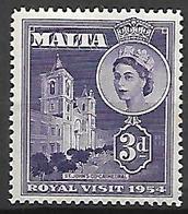 MALTE    -   1954 .   Y&T N° 235 *. - Malte (...-1964)