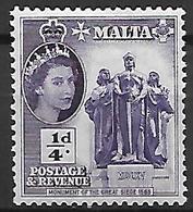 MALTE    -   1956 .   Y&T N° 239 *. - Malte (...-1964)