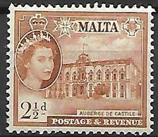 MALTE    -   1956 .   Y&T N° 244 *. - Malte (...-1964)