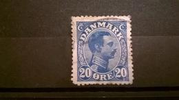FRANCOBOLLI STAMPS DANIMARCA DANMARK 1913 RE FEDERICO VIII - 1913-47 (Christian X)