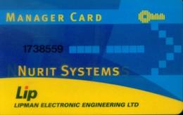 Hotel Key, Manufacturer,  Lipman - Nurit Systems  (1pcs) - Other - Europe