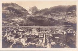 Seltene ALTE  Foto- AK   MEIRINGEN / K. Bern   - Teilansicht - Nicht Gelaufen 1923 Beschriftet - BE Berne
