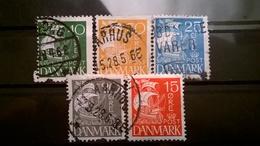 FRANCOBOLLI STAMPS DANIMARCA DANMARK 1927 NAVE A VELA - 1913-47 (Christian X)