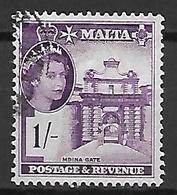 MALTE    -   1956 .   Y&T N° 249 Oblitéré . - Malte (...-1964)