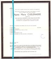 Devotie - Doodsbrief - Overlijden - Agnes Cuelenaere - Eede 1921 - Gent 1971 - Décès
