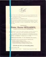 Devotie - Doodsbrief - Overlijden - Pieter Heulaerts - Evere 1894 - 1953 - Décès