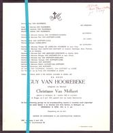 Devotie - Doodsbrief - Overlijden - Guy Van Hoorebeke - Maldegem 1939 - Brugge 1974 - Décès