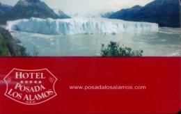 Argentina Hotel Key, Hotel Posada Los Alamos ,El Calafate, Santa Cruz   (1pcs) - Argentina