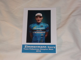 Georg Zimmermann - Team Felbermayr Simplon Wels - 2016 (photo KODAK) - Ciclismo