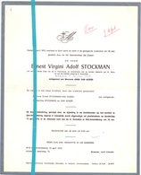 Devotie - Doodsbrief - Overlijden - Ernest Stockman - St Amandsberg 1972 - Décès