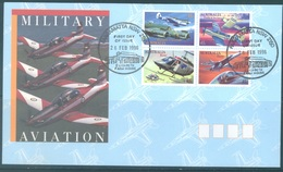 AUSTRALIA  - FDC - 26.2.1996 - MILITARY AVIATION - Yv 1487-1490 - Lot 18636 - Premiers Jours (FDC)