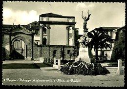 WD66 CAPUA - PALAZZO ARCIVESCOVILE E MON. AI CADUTI - Italia