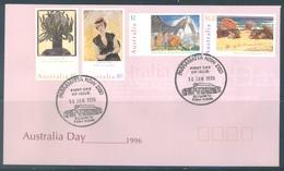 AUSTRALIA  - FDC - 16.1.1996 - PAINTINGS - Yv 1482-1485 - Lot 18637 - Premiers Jours (FDC)
