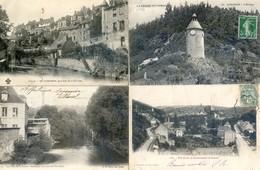 23 - Aubusson - Lot De 5 Cartes - Terrade, Horloge, - Aubusson