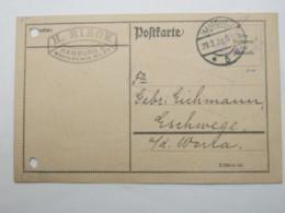 1923 , Gebühr Bezahlt , Beleg Aus  Hamburg - Briefe U. Dokumente