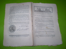 Division Des Colonies St Domingue,Guyane & Guadeloupe En Cantons.Costume Des Représentants Du Peuple.Décime Billets Spec - Décrets & Lois