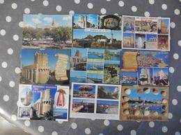 LOT  DE 10 CARTES  POSTALES  NEUVES  DES  SAINTES MARIE  DE LA  MER - Postcards