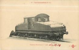 Cie ORLEANS - Machine Tracteur électrique 1er Type - Les Locomotives  , Ed. Fleury - 2 Scans - Matériel