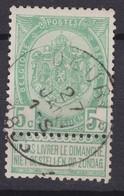 N° 56 DEURLE Oblitération Faible - 1893-1907 Armoiries