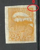 ESTLAND ESTONIA 1924 Michel 53 ERROR Abart * - Estonie