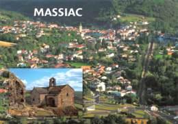 MASSIAC Vue Panoramique  23 (scan Recto-verso)MA2299Ter - Autres Communes
