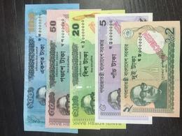 Bangladesh 2018 - 2012 Specimen Banknote UNC Set 2 To 100 Taka - Bangladesh