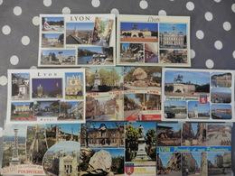 LOT  DE  96 CARTES  POSTALES  NEUVES  DE  LYON - Postcards