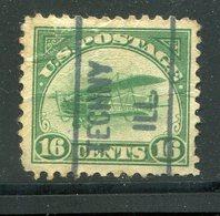 USA / 1918 / Mi. 249 Mit Vorausentwertung TECHNY ILL (1/479) - Gebraucht
