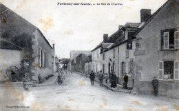 Fontenay-sur-Conie. La Rue De Chartres. (Animée). - France