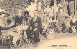 Types Toulousains - Une Partie De Pêche à Pinsaguel - L'Heure Verte - Absinthe - Cecodi N'1243 - Toulouse