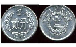 CHINE 2 Fen 1983 - Chine