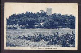 CPA 30 - DURFORT - VIBRAC - Château De Vibrac - TB PLAN EDIFICE - France