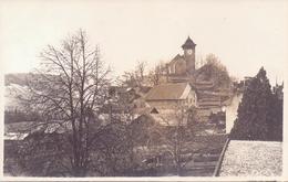 Seltene ALTE  Foto- AK   CHATEAU-d'OEX / K. Waadt   - Teilansicht - Nicht Gelaufen 1914 Ca. - VD Vaud