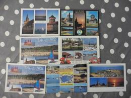 LOT  DE  7  CARTES  POSTALES  NEUVES  DU  LAC   DU   DER - Postcards