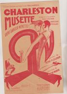 (GEO1) CHARLESTON MUSETTE Ou Viens Danser Nenette  GALIARDIN , Paroles RENE FLOURON , Musique ALCIB MARIO - Scores & Partitions
