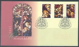 AUSTRALIA  - FDC - 1.11.1995 - CHRISTMAS - Yv 1479-1481 - Lot 18638 - Premiers Jours (FDC)