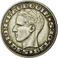 Monnaie, Belgique, 50 Francs, 50 Frank, 1958, TTB+, Argent, KM:150.1 - 1951-1993: Baudouin I