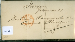 HANDGESCHREVEN BRIEF Uit 1861 Gelopen Van UTRECHT Aan De BURGEMEESTER Te HORSSEN (11.465) - Period 1852-1890 (Willem III)