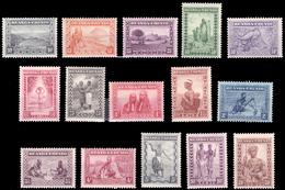 Ruanda 0092/106**  Scènes Indigènes - Animaux - Paysages  MNH - - Ruanda-Urundi
