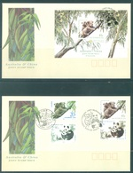 AUSTRALIA  - FDC - 1.9.1995 - PANDA JOINT ISSUE WITH CHINA - Yv 1453-1454 BLOC 28  - Lot 18639 - Premiers Jours (FDC)