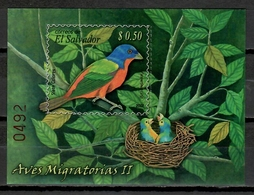El Salvador 2009 / Birds MNH Aves Vögel Oiseaux / Cu10405  40-6 - Pájaros