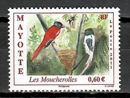 Mayotte 2011 / Birds MNH Aves Vögel Oiseaux / Cu10407  40 - Birds