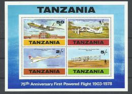 TANZANIA  YVERT  H/B   119/22  MNH  ** - Tanzania (1964-...)