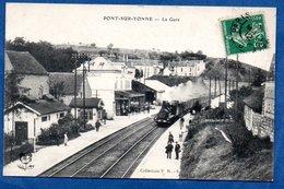Pont Sur Yonne -  La Gare - France