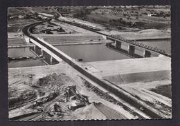 CPSM 26 - CHUTE DE DONZERE MONDRAGON - Ensemble Pont Route Nationale 7 Et Pont-Rail Amont Au Km. 4 Du Canal - Donzere