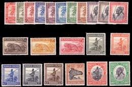 Ruanda 0126/47*  Palmiers Sujets Divers  H - - Ruanda-Urundi