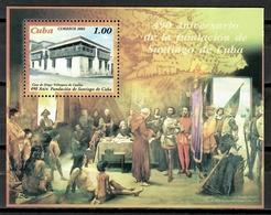 Cuba 2005 / 490 Years Santiago De Cuba Founding MNH 490 Aniversario Fundación / Cu11106  C1 - Neufs