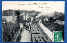 Pont Sur Yonne  -  La Gare - Pont Sur Yonne