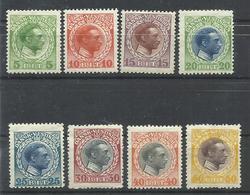 ANTILLAS YVERT 44/51  MH  * - Denmark (West Indies)