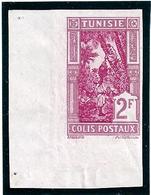 Col.Fr.-Tunisie - Colis Postaux N°21** Non Dentelé- Bord De Feuille - Côte: 156€ - Autres
